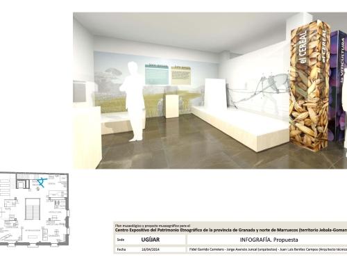 Plan museológico y proyecto muesográfico. ETNOMED: Centro Expositivo del Patrimonio Etnográfico de la provincia de Granada y norte de Marruecos (territorio Jebala-Gomara).
