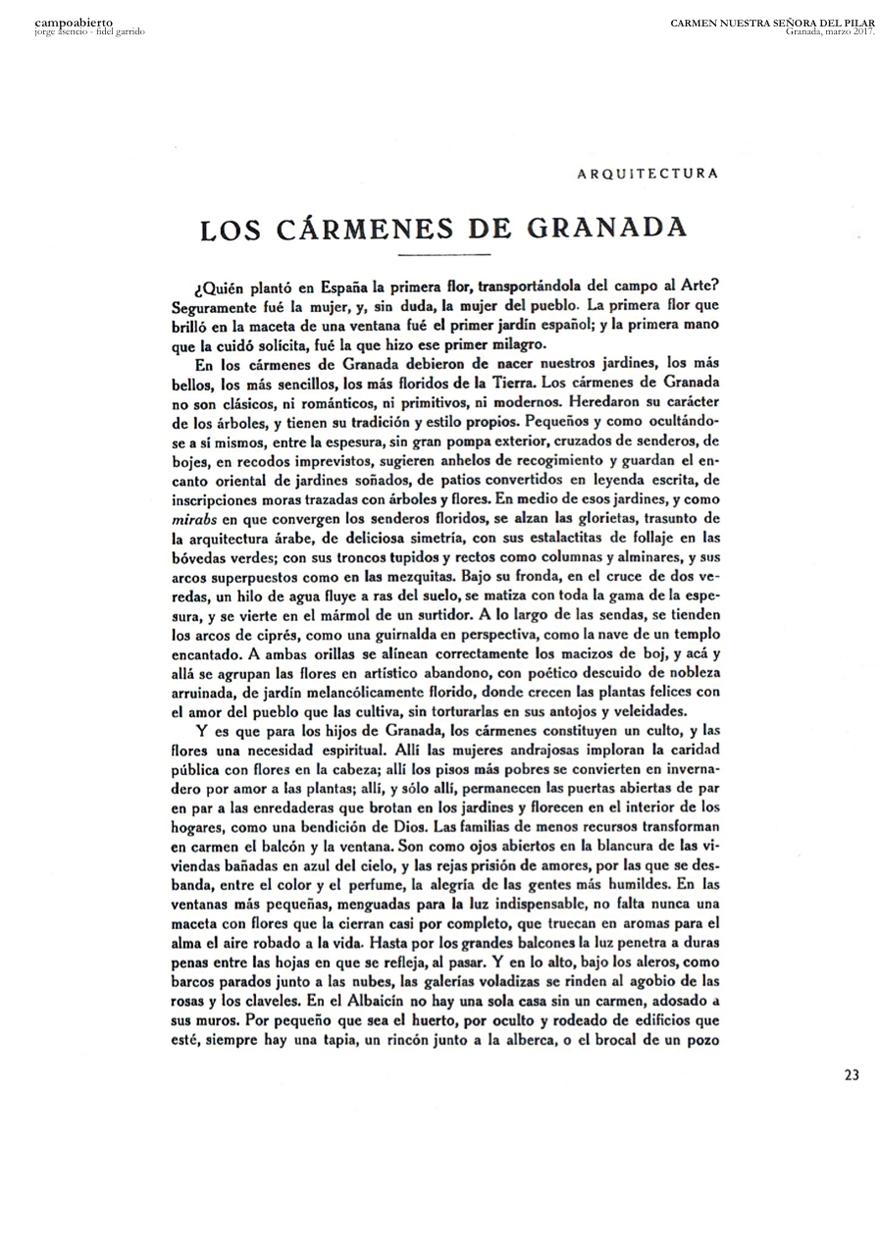05 CARMEN NUESTRA SRA DEL PILAR - Preliminary draft