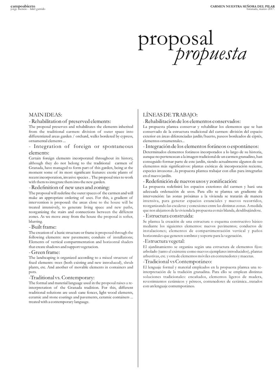23 CARMEN NUESTRA SRA DEL PILAR - Preliminary draft