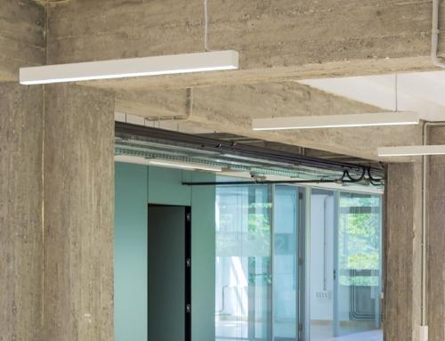 FACULTAD DE FILOSOFÍA Y LETRAS – Universidad de Granada. Reforma interior del edificio Aulario de Musicología para ampliación de la biblioteca