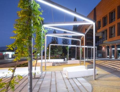 Proyecto de paisajismo – ISLAS Y SENDAS VERDES – Universidad de Málaga – Biblioteca General